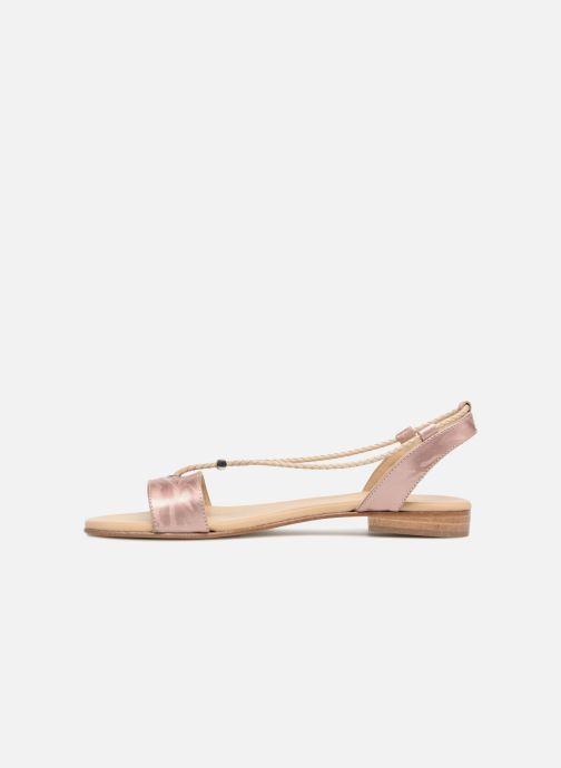 Sandals MAURICE manufacture Eddie - Version 3 Pink front view