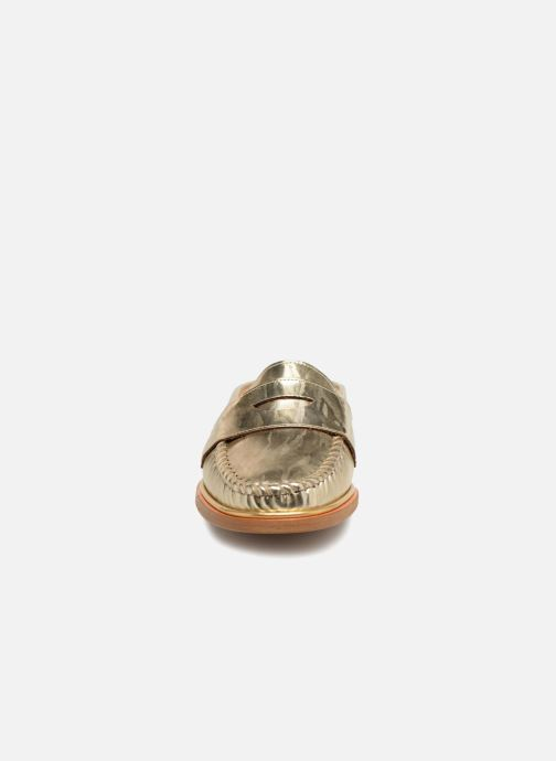 Mules et sabots MAURICE manufacture Sally - Version 3 Or et bronze vue portées chaussures