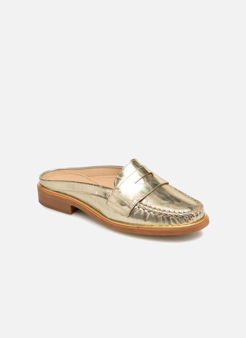 Clogs og træsko MAURICE manufacture Sally - Version 3 Guld og bronze detaljeret billede af skoene