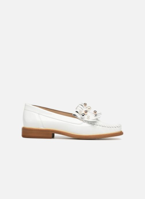 Loafers MAURICE manufacture Hansela version 1 White back view