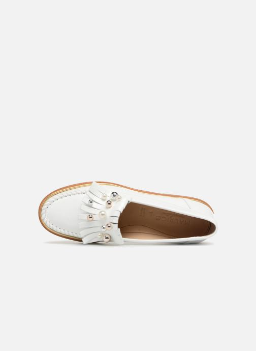 Loafers MAURICE manufacture Hansela version 1 White view from the left