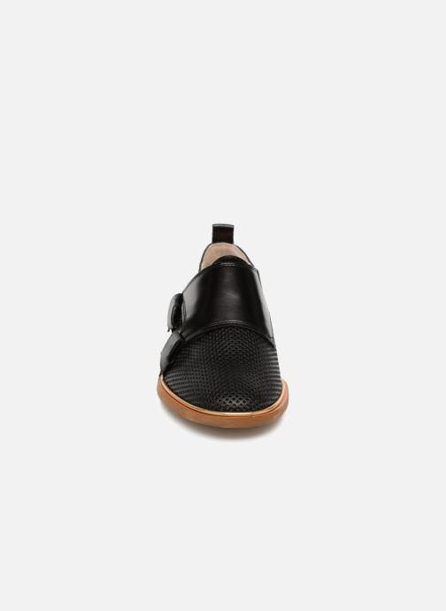 Mocassins MAURICE manufacture Jeff version 2 Noir vue portées chaussures