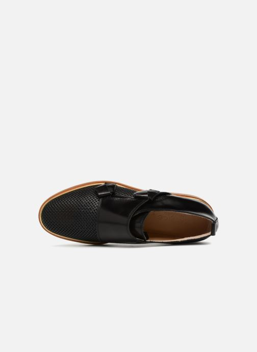 Loafers MAURICE manufacture Jeff version 2 Black view from the left