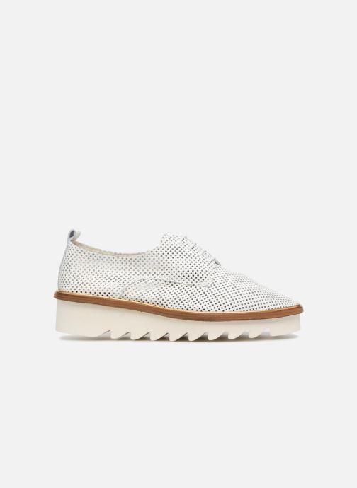 Chaussures à lacets MAURICE manufacture Shum version 1 Blanc vue derrière