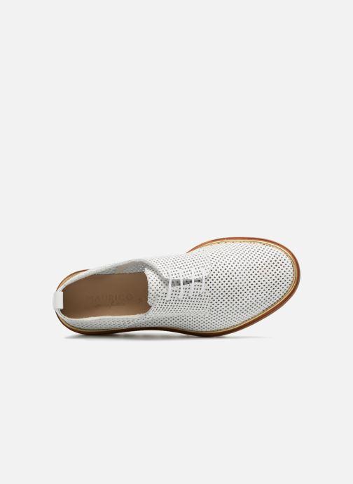 Chaussures à lacets MAURICE manufacture Shum version 1 Blanc vue gauche