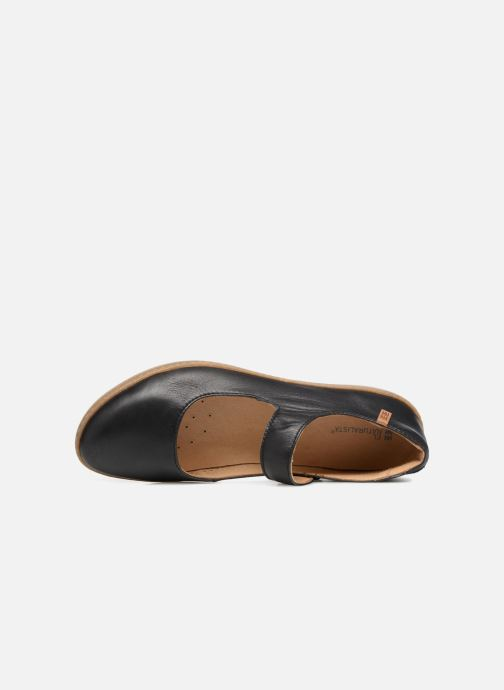 Ballet pumps El Naturalista Coral N5301 Black view from the left