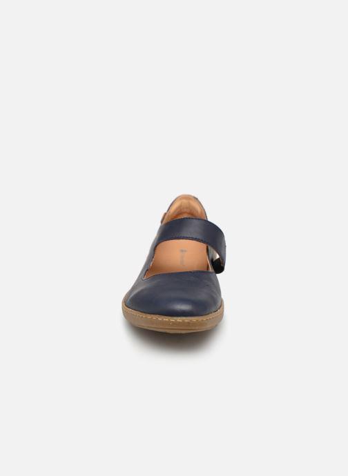 Ballerines El Naturalista Coral N5301 Bleu vue portées chaussures