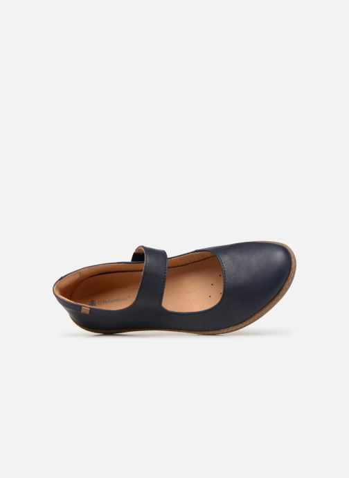 Ballet pumps El Naturalista Coral N5301 Blue view from the left