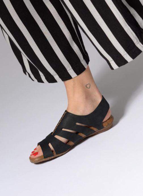 Sandales et nu-pieds El Naturalista Wakataua N5065 Noir vue bas / vue portée sac