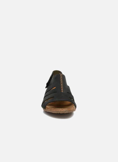 Sandales et nu-pieds El Naturalista Wakataua N5065 Noir vue portées chaussures