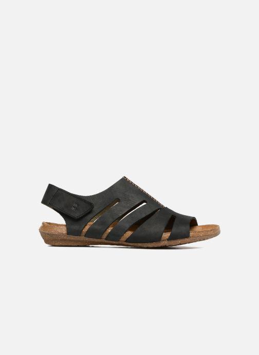 Sandales et nu-pieds El Naturalista Wakataua N5065 Noir vue derrière