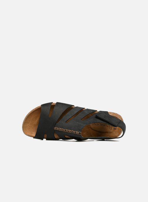 Sandales et nu-pieds El Naturalista Wakataua N5065 Noir vue gauche