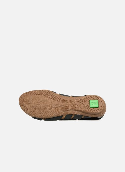 Sandales et nu-pieds El Naturalista Wakataua N5065 Noir vue haut