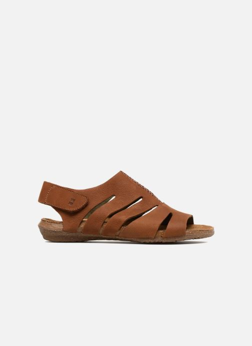 Sandales et nu-pieds El Naturalista Wakataua N5065 Marron vue derrière