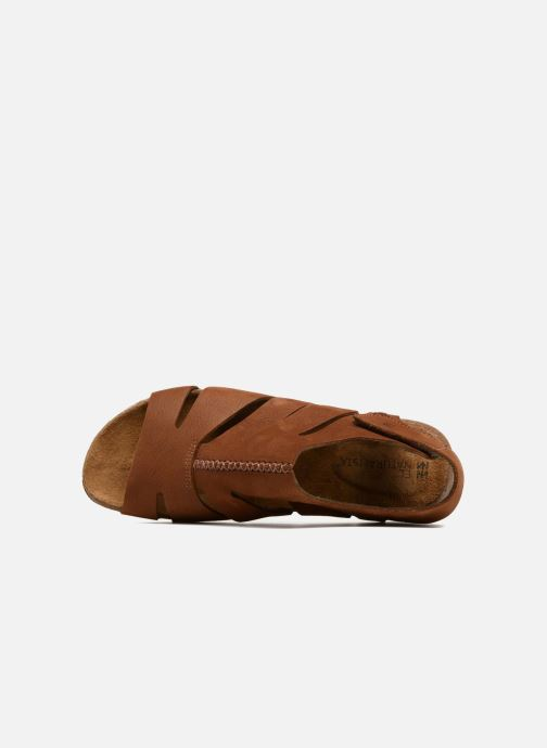 Sandales et nu-pieds El Naturalista Wakataua N5065 Marron vue gauche