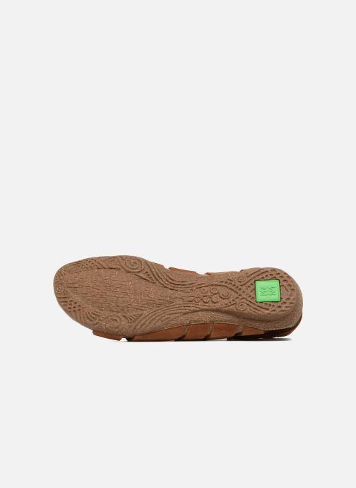 Sandales et nu-pieds El Naturalista Wakataua N5065 Marron vue haut
