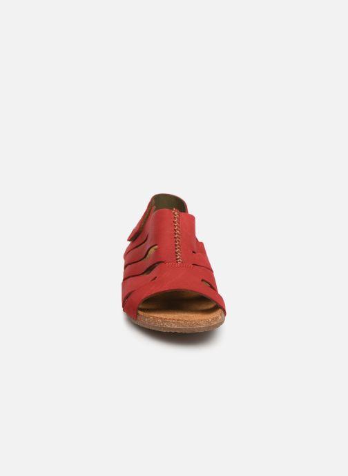 Sandales et nu-pieds El Naturalista Wakataua N5065 Rouge vue portées chaussures