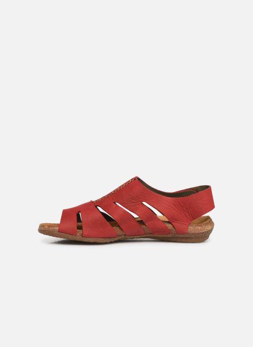 Sandales et nu-pieds El Naturalista Wakataua N5065 Rouge vue face