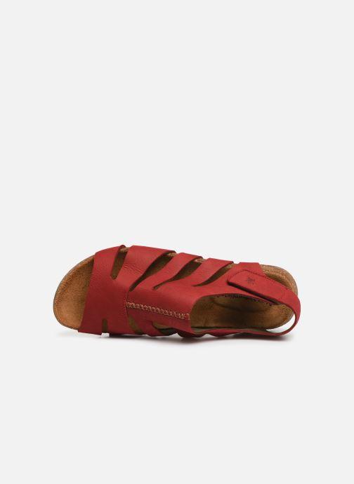 Sandales et nu-pieds El Naturalista Wakataua N5065 Rouge vue gauche