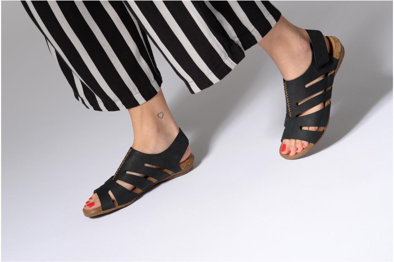 Sandales et nu-pieds El Naturalista Wakataua N5065 Marron vue bas / vue portée sac
