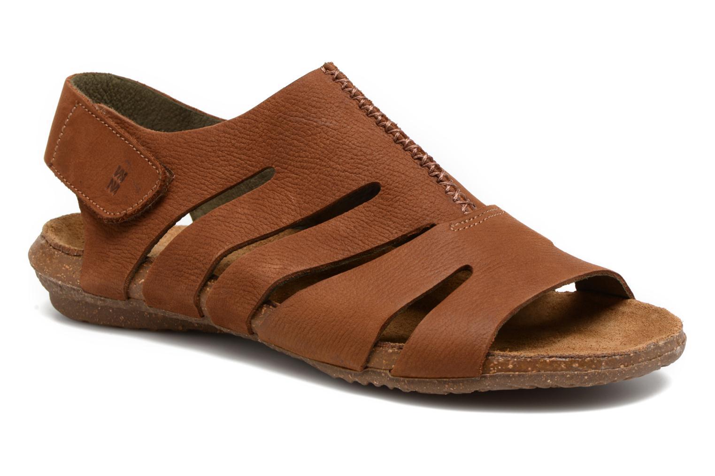 Sandales et nu-pieds El Naturalista Wakataua N5065 Marron vue détail/paire
