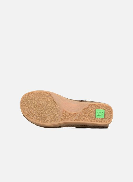 Ballet pumps El Naturalista Ricefied N5041 Black view from above