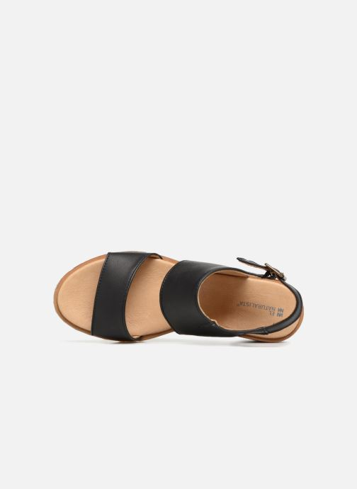Sandals El Naturalista Sabal N5010 Black view from the left