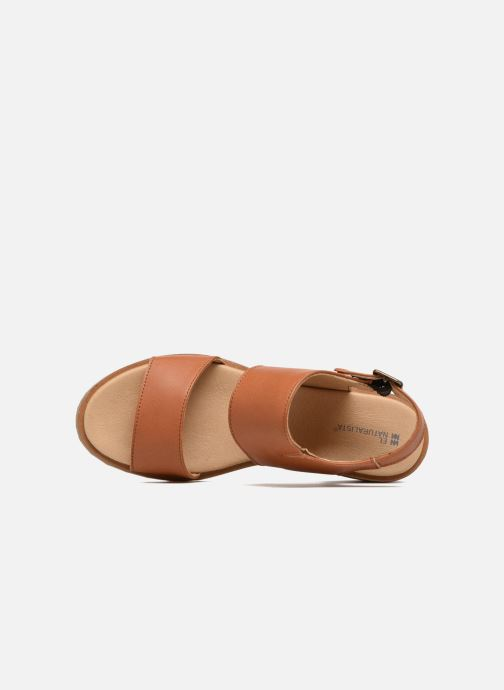 Sandals El Naturalista Sabal N5010 Brown view from the left