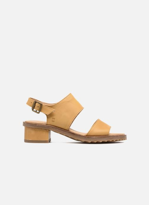 Sandals El Naturalista Sabal N5010 Yellow back view