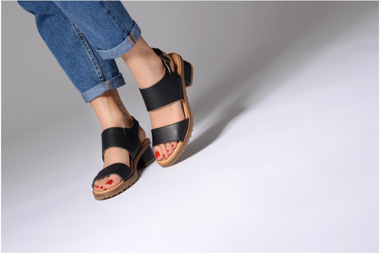Sandales et nu-pieds El Naturalista Sabal N5010 Noir vue bas / vue portée sac