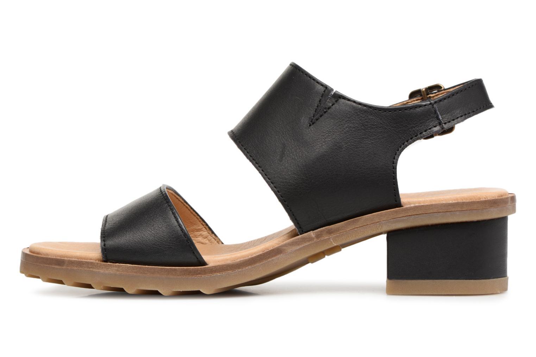 Sandales et nu-pieds El Naturalista Sabal N5010 Noir vue face