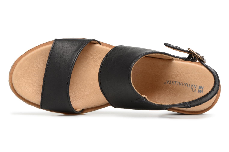 Sandales et nu-pieds El Naturalista Sabal N5010 Noir vue gauche