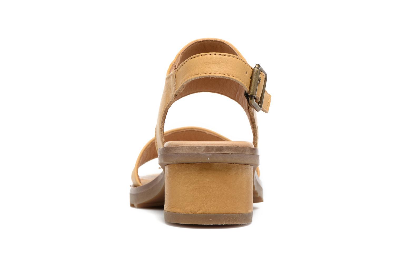 Sandales et nu-pieds El Naturalista Sabal N5010 Jaune vue droite