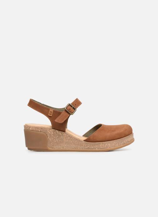 Sandales et nu-pieds El Naturalista Leaves N5001 Marron vue derrière