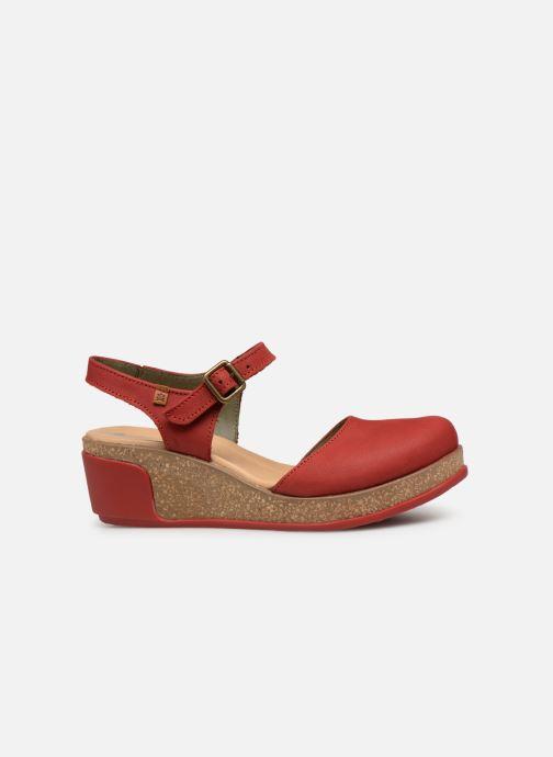Sandales et nu-pieds El Naturalista Leaves N5001 Rouge vue derrière
