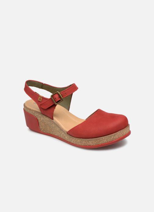 Sandales et nu-pieds El Naturalista Leaves N5001 Rouge vue détail/paire