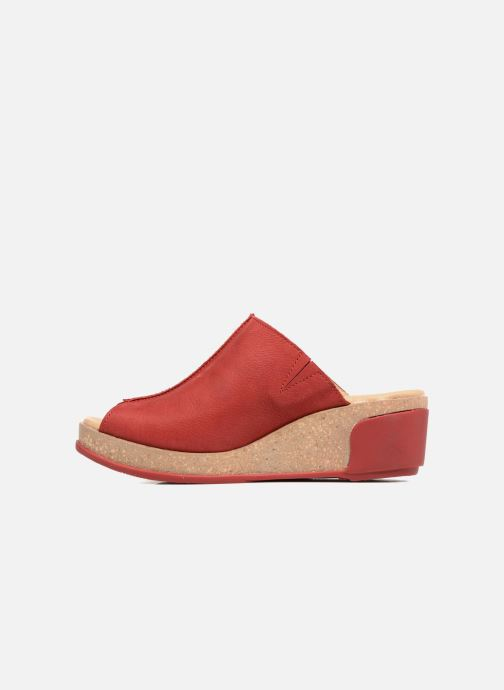Mules & clogs El Naturalista Leaves N5005 Red front view