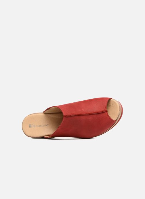 Mules & clogs El Naturalista Leaves N5005 Red view from the left