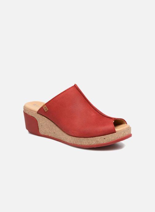 El Naturalista Leaves N5005 (Rouge) - Mules et sabots chez Sarenza ... 2826cb39c7a8