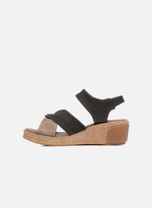 Sandali e scarpe aperte El Naturalista Leaves N5007T Nero immagine frontale