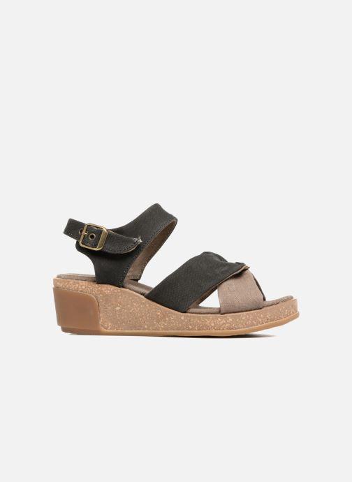 Sandali e scarpe aperte El Naturalista Leaves N5007T Nero immagine posteriore