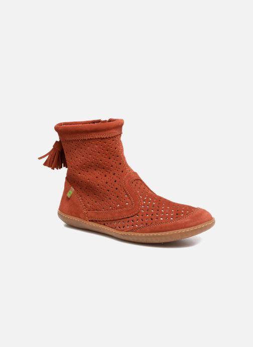 Boots en enkellaarsjes El Naturalista El Viajero N262 Rood detail