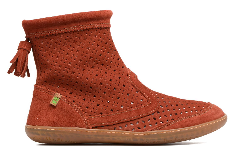 Bottines et boots El Naturalista El Viajero N262 Rouge vue derrière