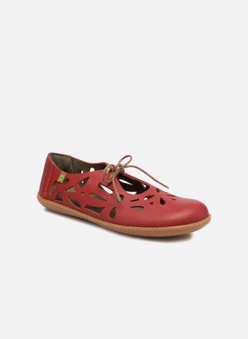170f7c057cfb87 Chaussures à lacets El Naturalista El Viajero N5271 Rouge vue détail/paire
