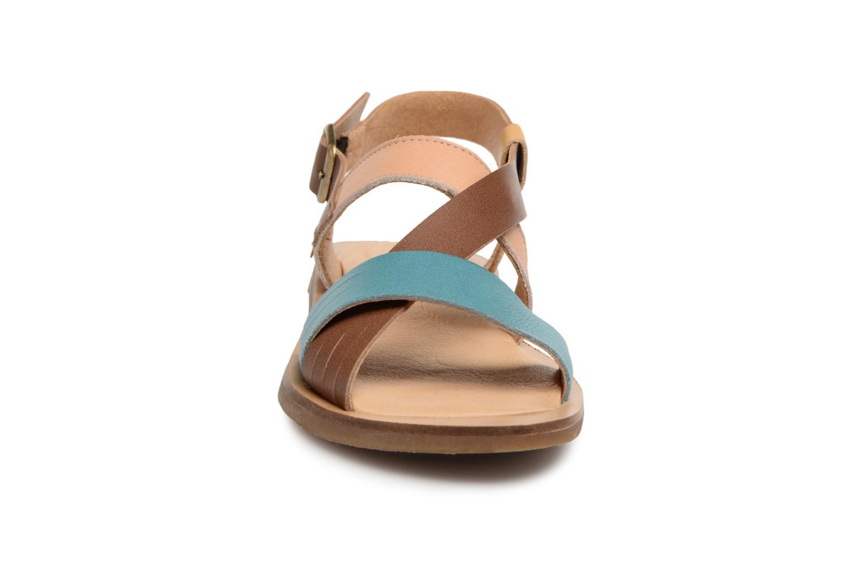 Sandales et nu-pieds El Naturalista Tulip N5181 Marron vue portées chaussures