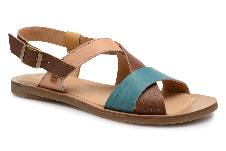 Sandales et nu-pieds El Naturalista Tulip N5181 Marron vue détail/paire