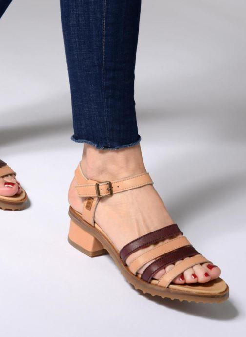 Sandales et nu-pieds El Naturalista Sabal N5016 Marron vue bas / vue portée sac