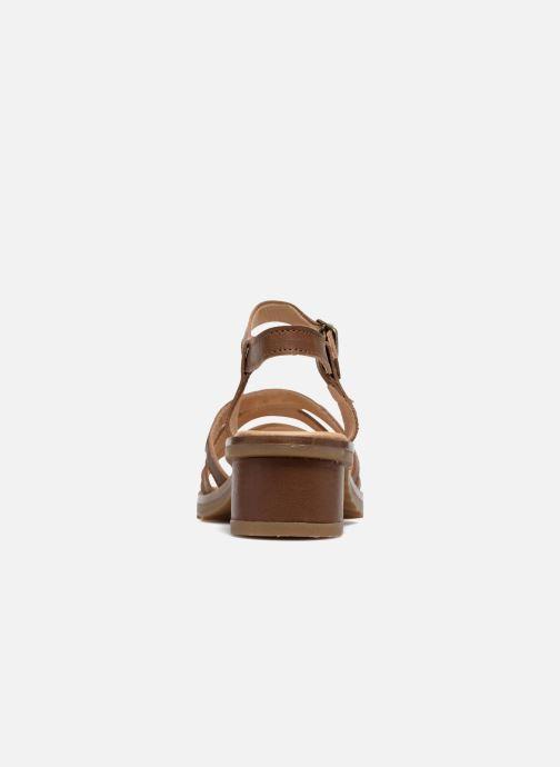 Sandales et nu-pieds El Naturalista Sabal N5016 Marron vue droite