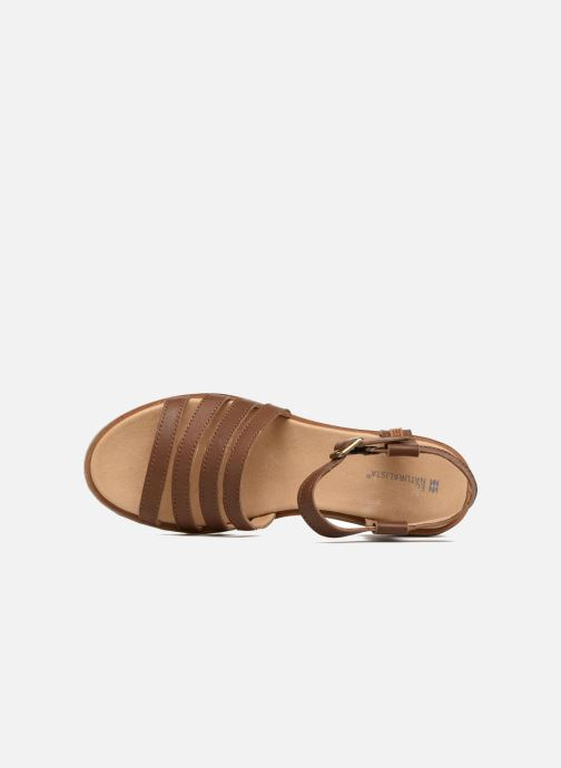 Sandals El Naturalista Sabal N5016 Brown view from the left