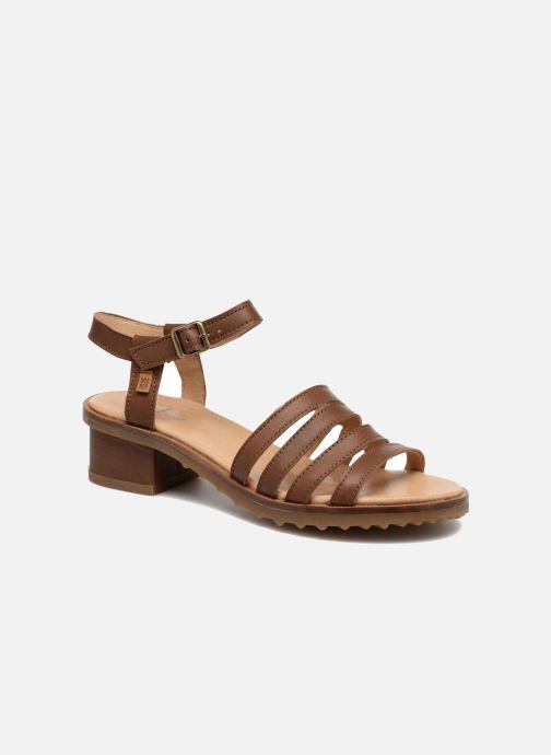Sandales et nu-pieds El Naturalista Sabal N5016 Marron vue détail/paire